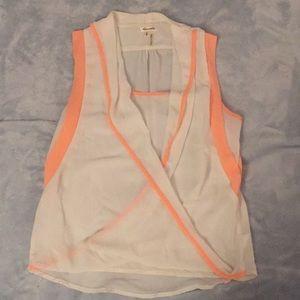 Dress blouse tank top